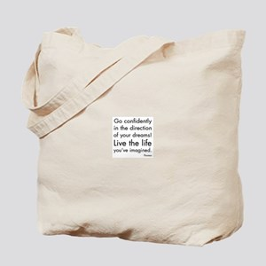 Go Confidently Tote Bag