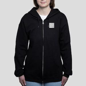 Go Confidently Women's Zip Hoodie