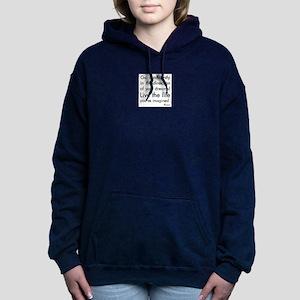 Go Confidently Women's Hooded Sweatshirt
