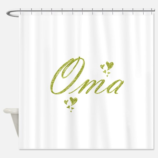 oma Shower Curtain