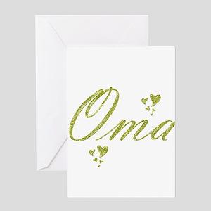 oma Greeting Cards