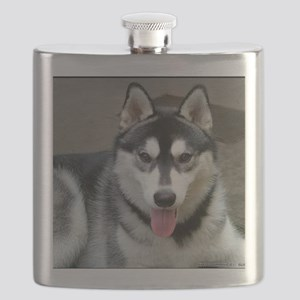 Alaskan Malamute Dog Flask