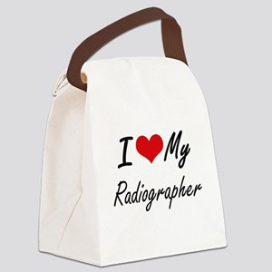 I love my Radiographer Canvas Lunch Bag