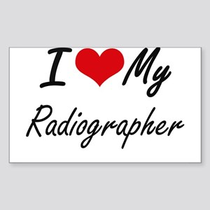 I love my Radiographer Sticker