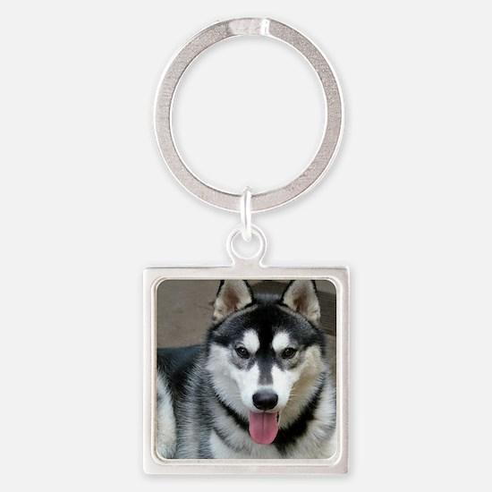 Alaskan Malamute Dog Keychains