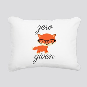 Zero Fox Given Rectangular Canvas Pillow