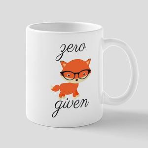 Zero Fox Given Mugs