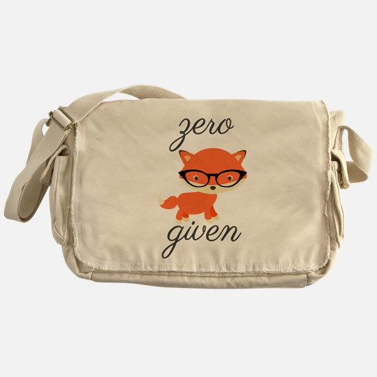 Zero Fox Given Messenger Bag