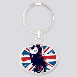 Union Jack Scooter Keychains