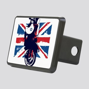 Union Jack Scooter Rectangular Hitch Cover