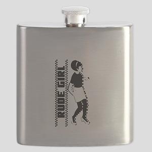 Rude Girl Flask