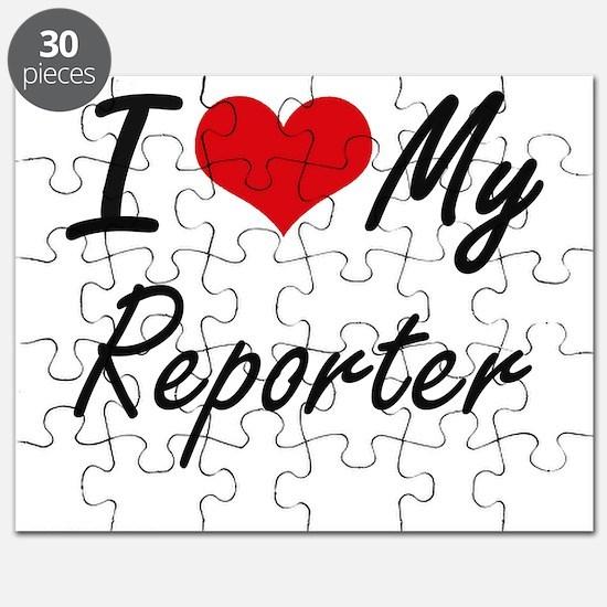 I love my Reporter Puzzle