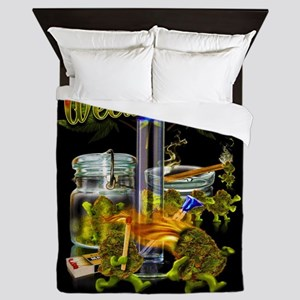 Weed Party Queen Duvet