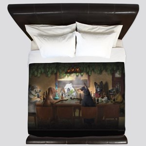 Weed Dogs King Duvet