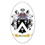 McColm Sticker (Oval 50 pk)