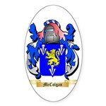 McColgan Sticker (Oval)