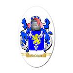 McColgan 20x12 Oval Wall Decal