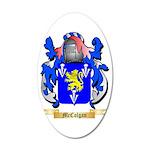 McColgan 35x21 Oval Wall Decal