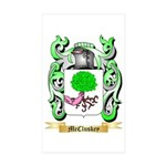 McCluskey Sticker (Rectangle 10 pk)