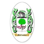 McCluskey Sticker (Oval 50 pk)