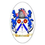 McClure Sticker (Oval 50 pk)