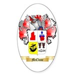 McClune Sticker (Oval 50 pk)