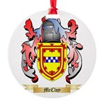 McCloy Round Ornament