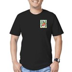 McCloughry Men's Fitted T-Shirt (dark)