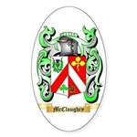 McCloughry Sticker (Oval 10 pk)