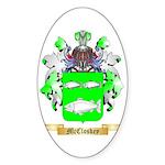 McCloskey Sticker (Oval 50 pk)