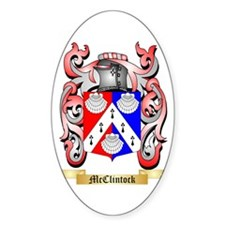 McClintock Sticker (Oval)