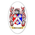 McClintock Sticker (Oval 50 pk)
