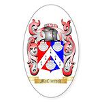 McClintoch Sticker (Oval 50 pk)