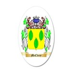 McClery 35x21 Oval Wall Decal