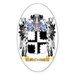 McClendon Sticker (Oval 50 pk)