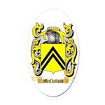 McClelland Oval Car Magnet