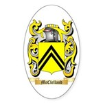 McClelland Sticker (Oval 50 pk)