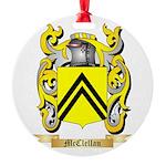 McClellan Round Ornament