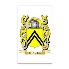 McClellan Rectangle Car Magnet