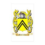 McClellan Sticker (Rectangle 10 pk)