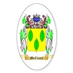 McCleary Sticker (Oval)