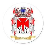 McClean Round Car Magnet