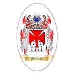 McClean Sticker (Oval 50 pk)