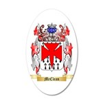 McClean 20x12 Oval Wall Decal