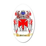 McClean 35x21 Oval Wall Decal