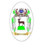 McClarnon Sticker (Oval 50 pk)