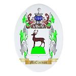 McClarnon Oval Ornament