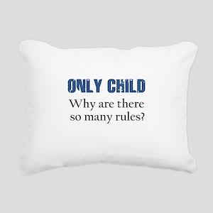 ONLY CHILD 2 Rectangular Canvas Pillow