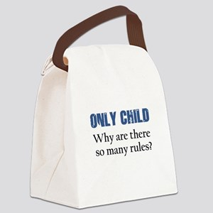 ONLY CHILD 2 Canvas Lunch Bag
