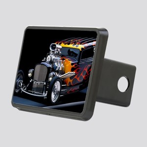 Hot Rod Rectangular Hitch Cover